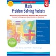Scholastic Math Problem-Solving Packets: Grade 4
