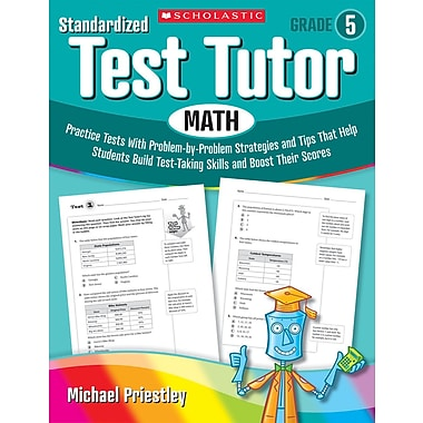 Scholastic Standardized Test Tutor: Math: Grade 4