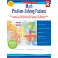 Scholastic Math Problem-Solving Packets: Grade 5
