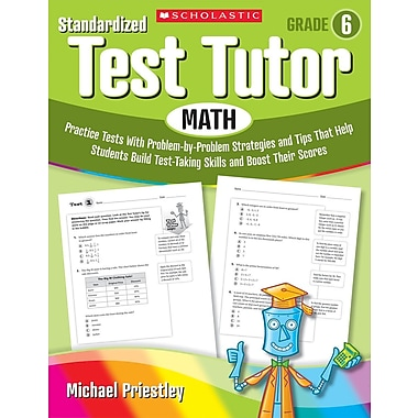 Scholastic Standardized Test Tutor: Math: Grade 5