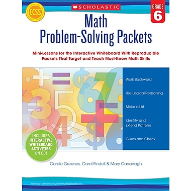 Scholastic Math Problem-Solving Packets: Grade 6