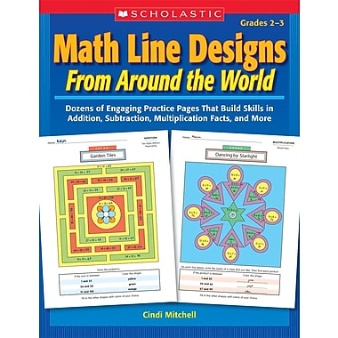 Scholastic Math Line Designs From Around the World: Grades 2–3
