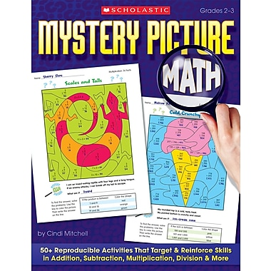 Scholastic Mystery Picture Math
