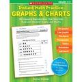 Scholastic Instant Math Practice: Graphs & Charts (Grades 2-3)