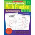 Scholastic Solve & Match Math Practice Pages: Grades 2–3