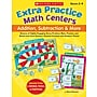 Scholastic Extra Practice Math Centers: Addition, Subtraction &