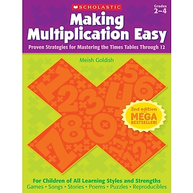 Scholastic Making Multiplication Easy (2nd Edition)