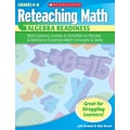 Scholastic Reteaching Math: Algebra Readiness