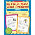 Scholastic 50 Fill-in Math Word Problems: Fractions & Decimals