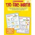 Scholastic Tic-Tac-Math: Grades K-2