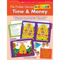Scholastic File-Folder Games in Color: Time & Money