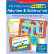 Scholastic File-Folder Games in Color: Addition & Subtraction