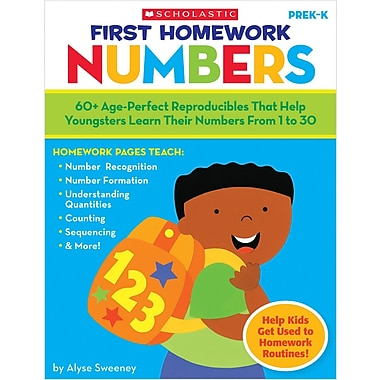 Scholastic First Homework: Numbers