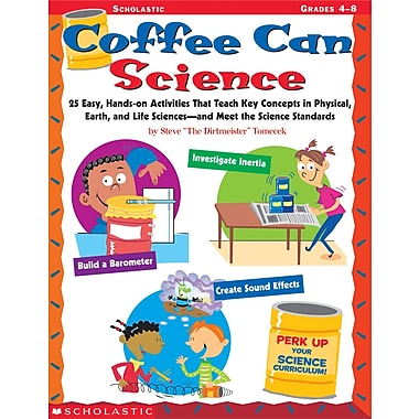 Scholastic Coffee Can Science