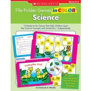 Scholastic File-Folder Games in Color: Science