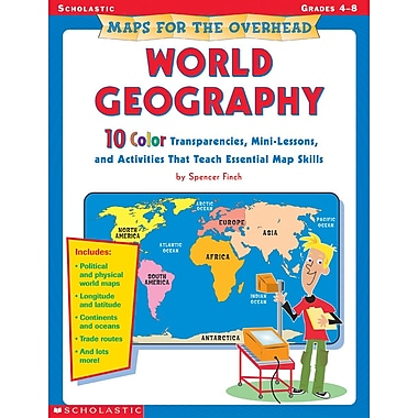 Scholastic Maps for the Overhead: United States Geography