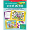 Scholastic File-Folder Games in Color: Social Studies