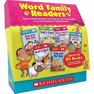 Scholastic Word Family Readers Set
