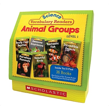 Scholastic Science Vocabulary Readers Set: Animal Groups