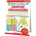 Scholastic 10 Write-On/Wipe-Off Graphic Organizers That Build Early Reading Skills (Flip Chart)