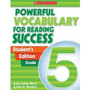 Scholastic Powerful Vocabulary for Reading Success: Student Workbook Grade 3