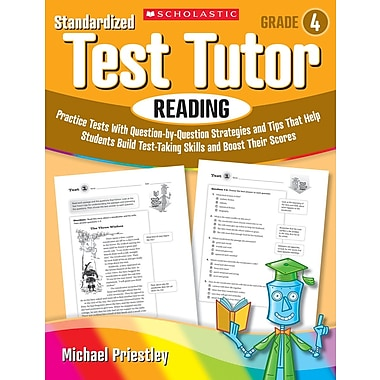 Scholastic Standardized Test Tutor: Reading: Grade 4
