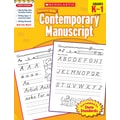 Scholastic Success with Contemporary Manuscript (Grades K–1)