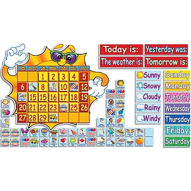 Scholastic Super Sunshine! Calendar Bulletin Board