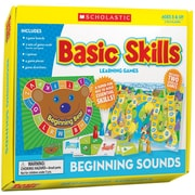 Scholastic Beginning Sounds Basic Skills Learning Games