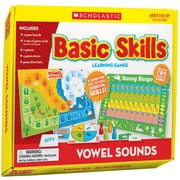 Scholastic Vowel Sounds Basic Skills Learning Games