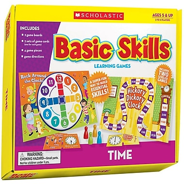 Scholastic Time Basic Skills Learning Games