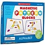 Scholastic Alphabet Magnetic Pattern Blocks
