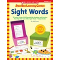 Scholastic Shoe Box Learning Centers: Sight Words
