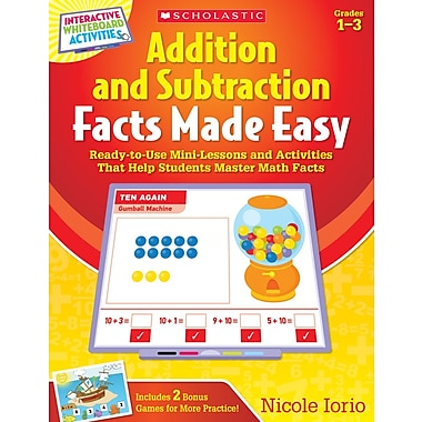 Scholastic Addition and Subtraction Facts Made Easy