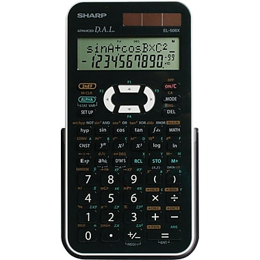 Sharp® EL-506XBWH Engineering/Scientific Calculator
