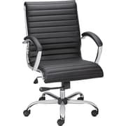 Staples® Bresser™ Luxura Managers Chair, Black