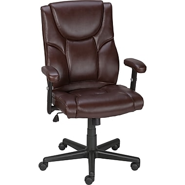 Staples Rumsen chair, brown