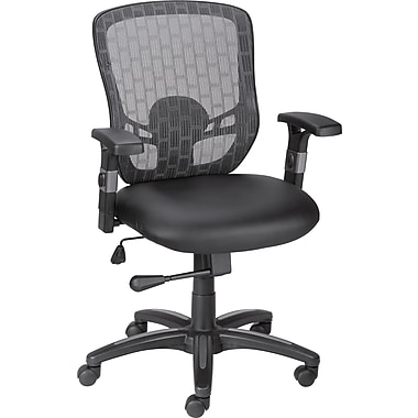 Staples Corvair Luxura Task Chair, Black