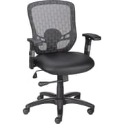 Staples® Corvair Luxura® Task Chair, Black