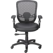 Staples Corvair Luxura Mesh Back Task Chair, Black