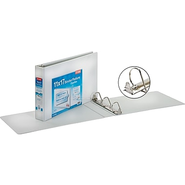 Cardinal® Clearvue D-Ring View Binder, 11