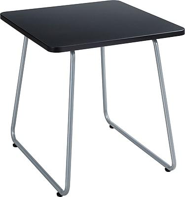 SAFCO Anywhere Metal End Table, Black, Each (5090SL) 938049