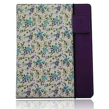 Splash RAINDROP Case for iPad 2 and the New iPad, Floral Purple
