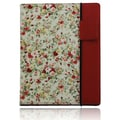 Splash RAINDROP Case for iPad 2 and the New iPad, Floral Red