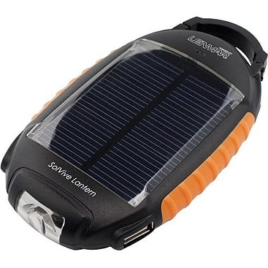 Lenmar SolVive Lantern - Portable Battery & Charger, Lantern with Solar Charge capabilities