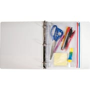 "Angler's Zip-All Ring Binder Pocket, Clear, 11""(H) x 8 1/2""(W)"
