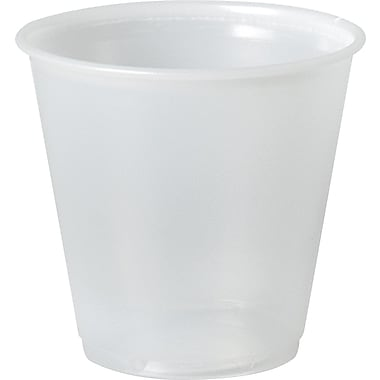 Solo® Galaxy® Economical Cold Cup, 3.5 oz., Translucent, 100/Pack