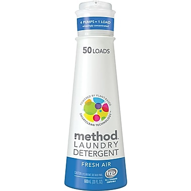Method® HE Laundry Detergent, Fresh Air, 20 oz.