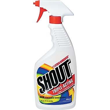 Shout Laundry Stain Treatment, Unscented, 22 oz. Trigger Bottle