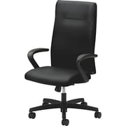 HON® HONIE102NT10 Ignition® Fabric Executive High-Back Chair, Black